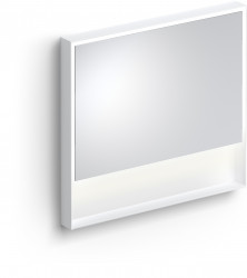 Clou Look at Me spiegel 90cm LED-verlichting IP44 mat wit