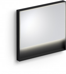 Clou Look at Me spiegel 90cm LED-verlichting IP44 mat zwart