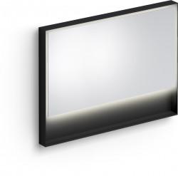 Clou Look at Me spiegel 110cm LED-verlichting IP44 mat zwart