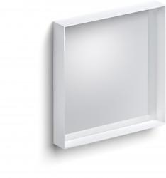 Clou Look at Me spiegel 50cm met omlijsting mat wit