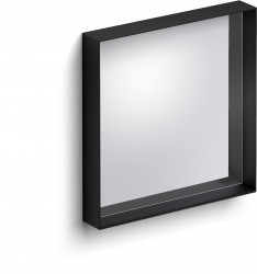 Clou Look at Me spiegel 50cm met omlijsting mat zwart