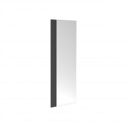 Clou First spiegel met strip van gezoet basalt t.b.v. fontein
