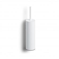 Clou Sjokker toiletborstelgarnituur wandmodel mat wit