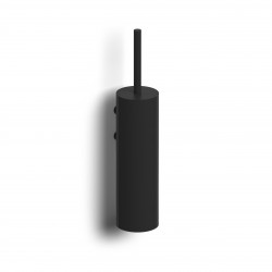 Clou Sjokker toiletgarnituur wandmontage mat zwart