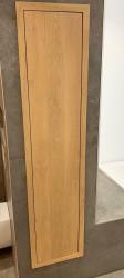 Topline massief eiken inbouw kolomkast ca 180x40cm kleur nog nader te bepalen 1208953051