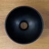 Solid S kleine waskom fontein Solid Surface rond 20 x 20 x 11 cm mat zwart 1208953268