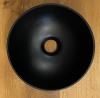 Solid S kleine waskom fontein Solid Surface rond 25 x 25 x 11 cm mat zwart 1208953270