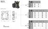 SB Universale inbouwdeel knopbediening thermostaatkraan met 1-2-3 uitgangen