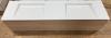 OUTLET TopLine Utrecht massief eiken badmeubelset met solidsurface wastafel 197x50x47cm 1208953627