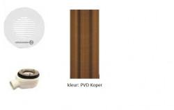 Waterevolution vloerput PVD Koper BDF1D90CPE