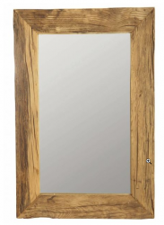 OUTLET Housedoctor spiegel met frame van recycled wood, pure nature, 60x90 cm