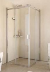 Riho Baltic hoekinstap 100x210 designgreep helder glas GE1002300