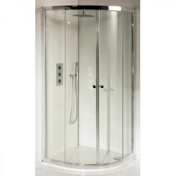Riho Lucena hoekinstap 90x195 helder glas GK24200
