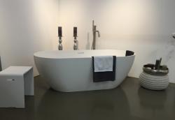 Riho Bilbao vrijstaand bad 170x80 solid surface wit BS10